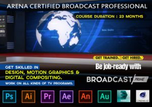 Be an Expert in Broadcast - Join Prime course in Belagavi (Belgaum)