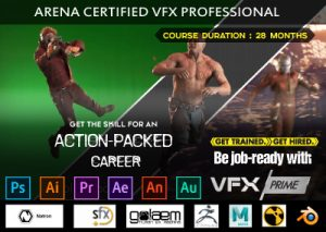 Learn VFX Prime in Belgaum - Arena Animation Belagavi