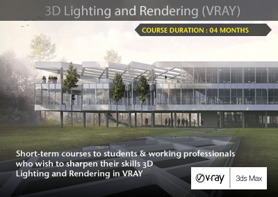 3D Lighting and Rendering (VRAY)
