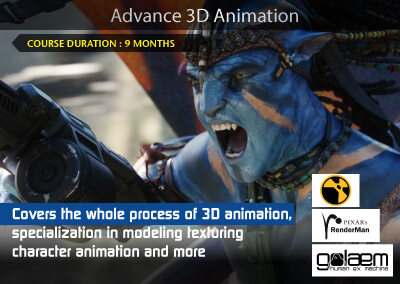 Advance 3D Animation (Maya)