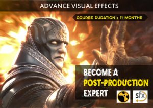 Become a Post Production expert, learn Advance Visual Effects