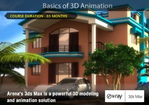 Basics of 3D Animation | Arena Animation Belagavi