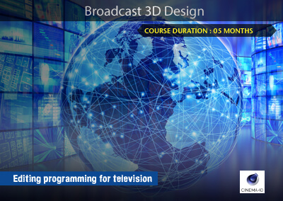 Broadcast 3D Design – Cinema 4D