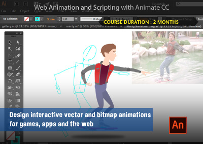 Web Animation and Scripting with Animate CC