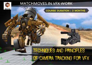 Matchmovies in VFX work using Mocha - Belgaum