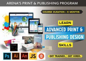 Print and Publishing Program for better skills at Arena Animation Belagavi
