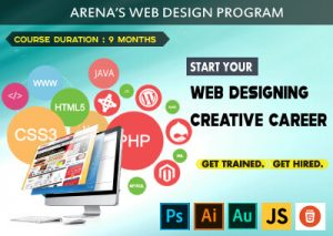 Learn Website Development in Belgaum's Arena Animation Belagavi.